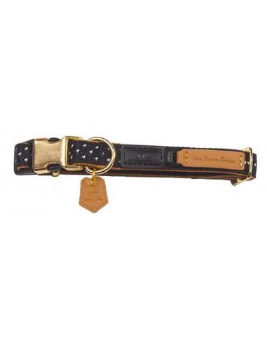 Collar para perro Mac Leather Mónaco