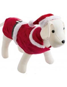 Chaqueta para perro modelo Santa Claus