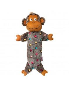 Juguetes para perros KONG UKLow Stuff Speckles Monkey