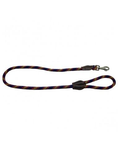 Correa para perro cordón tipo cuerda azul