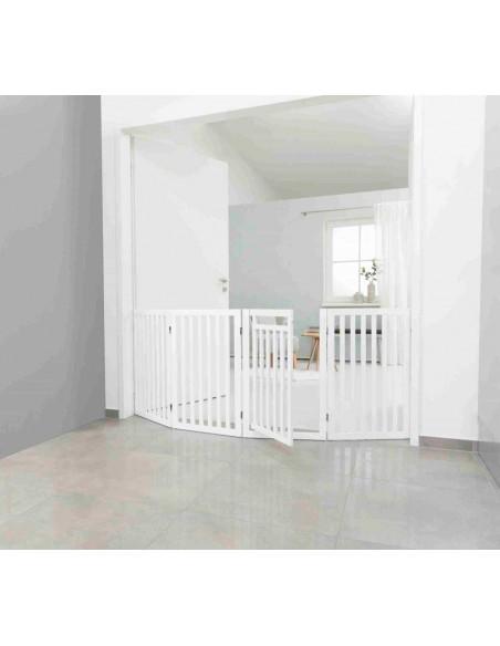 barrera ajustable para puertas y escaleras