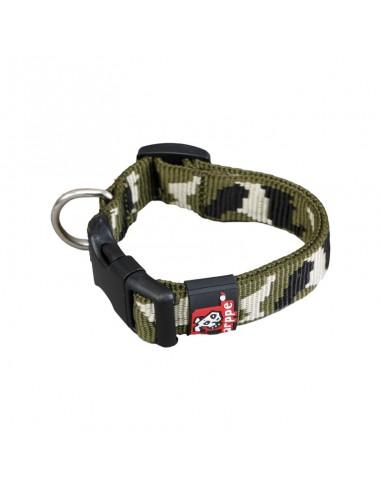 collar perro nylon camuflaje