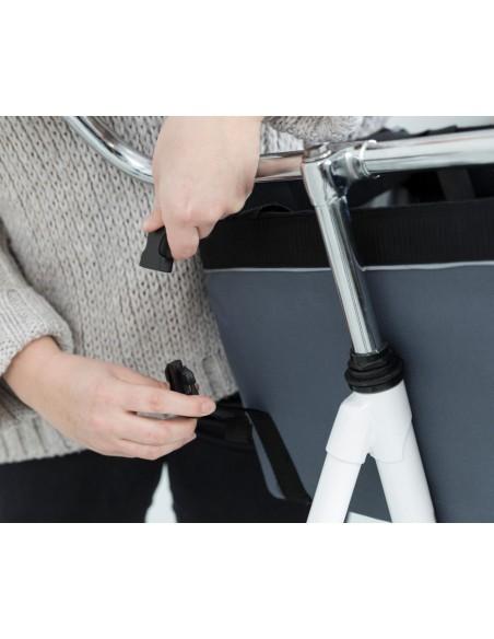 Cesta para Bicicleta con enganche a manillar