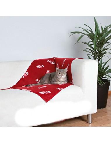 Manta de felpa para gatos