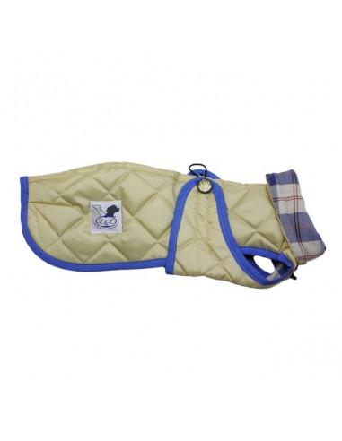 Abrigo Impermeable Acolchado para Piccolo beige