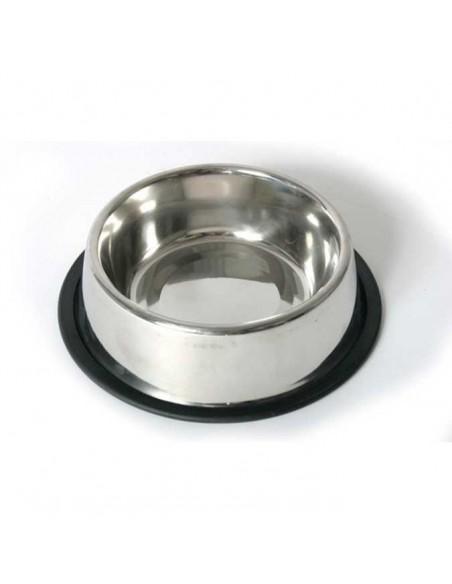 Comedero para perros de plato INOX antideslizante