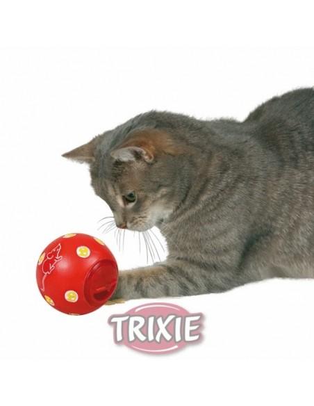 Pelota dispensadora de premios para gatos