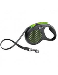 correa-perro-flexi-design-verde
