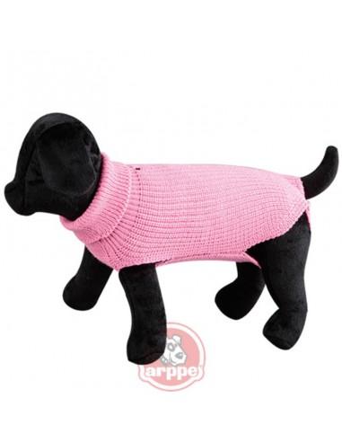 jersey para perro lana rosa