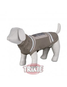 Jersey punto modelo Best of all Breeds color gris y marrón
