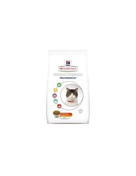 Pienso para gatos Hills vetessential neutered