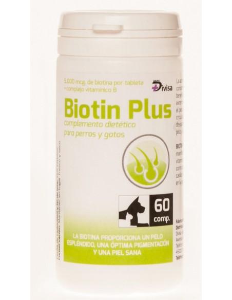 BIOTIN PLUS, complemento nutricional para perros y gatos