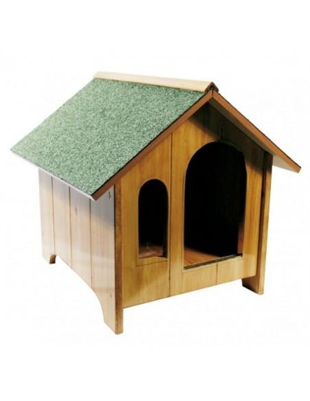Caseta de madera, para perro pequeño