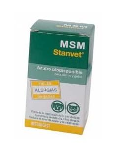 M.S.M. azufre biodisponible para perros y gatos