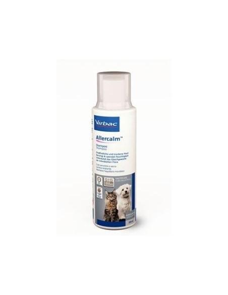 Champú Allercalm para perros y gatos, pieles sensibles y secas