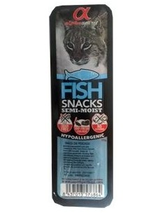 Snacks a base de pescado sin colorantes artificiales