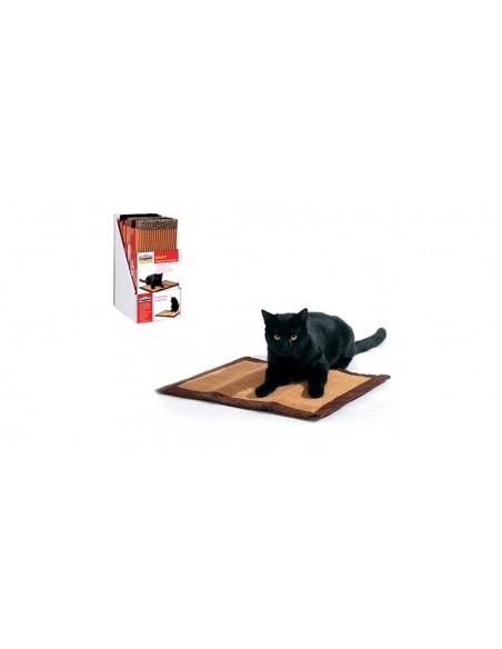 Rascador para gatos alfombra de sisal