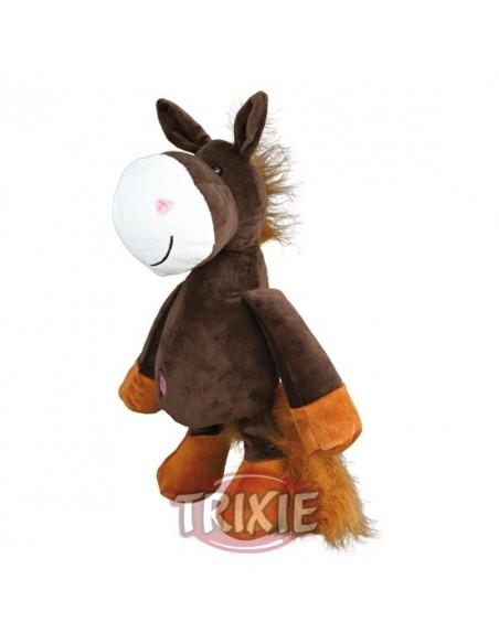 Peluche para perro modelo caballo