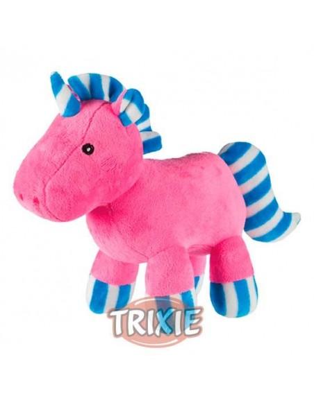 Juguete para perro peluche unicornio rosa