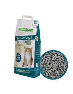 Lecho de papel ecológico reciclado para gatos