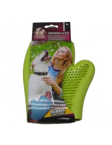Accesorios para perros - manopla de goma eliminacion pelos