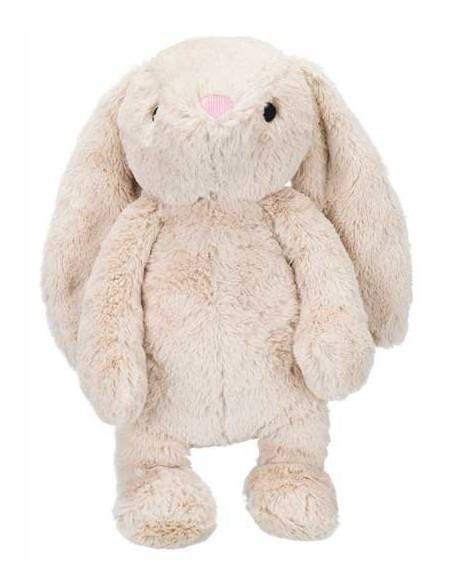 Peluche para perro modelo conejo