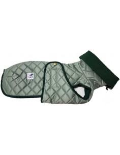 abrigo impermeable galgo verde
