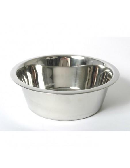 Comedero para perros de plato INOX