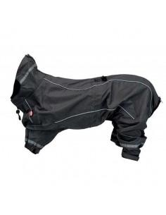 chubasquero perro gris trixie
