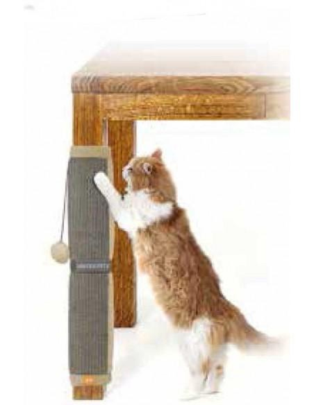 Rascador de gato para la pata de la mesa