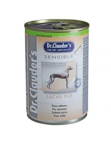 Lata para perro Dr. Clauders puro salmón