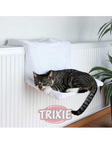 cama gato radiador