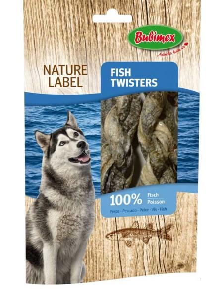 Snacks para perro piel de bacalao seca