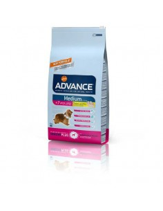 Comida para perros pienso advance medium senior chicken & rice