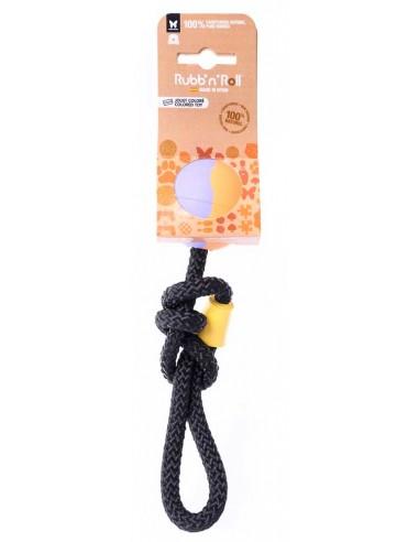 juguete perro pelota con cuerda
