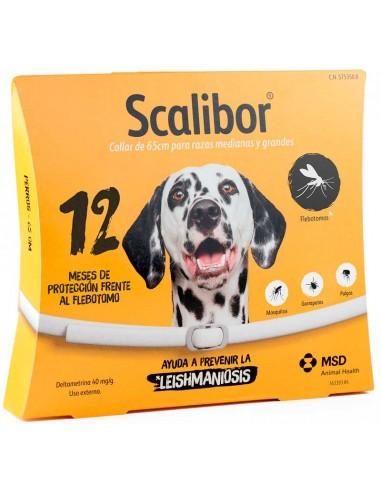 Collares antiparasitarios para perros Scalibor