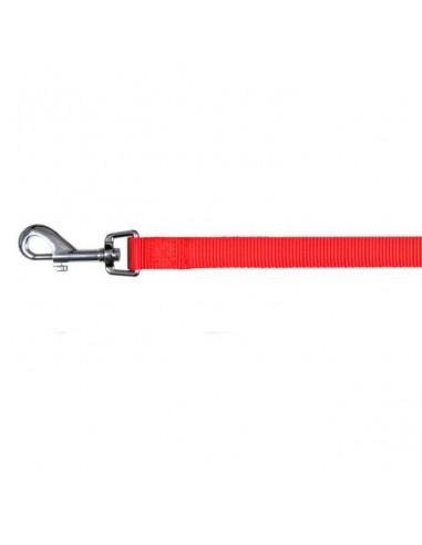 Correa de nylon rojo