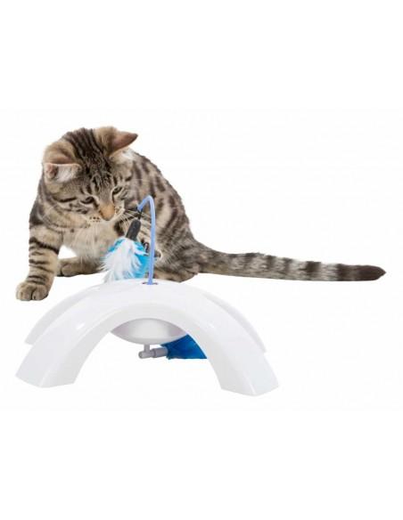 Juguete para gato plumas con movimiento de Trixie